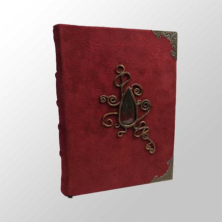 carnet originaux cuirs pierres semi-precieuses