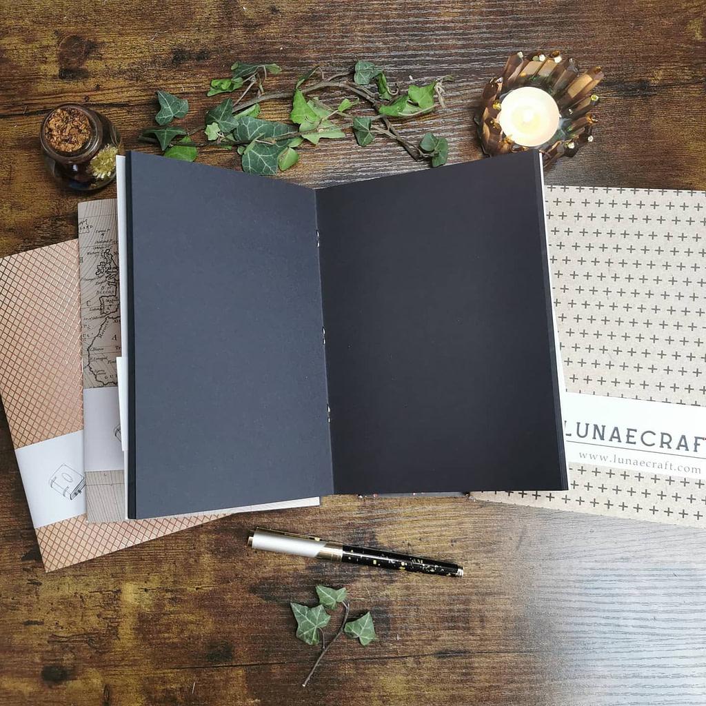 black-limited-edition-carnet-fait-main-lunaecraft